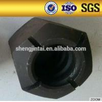 Buy cheap PSB screw thread steel bar and nut left from wholesalers