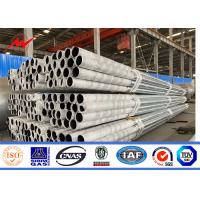 Buy cheap Commercial Galvanized Steel Pole 12m 500DAN 1000DAN 1600DAN ASTM A123 from wholesalers