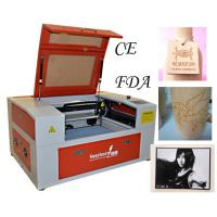 Buy cheap High Precision Laser Etching Machine with Motorized Worktable from wholesalers