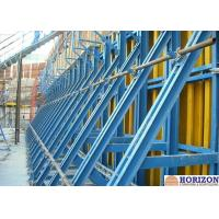 Buy cheap Painted Finishing Single Sided Wall Formwork  For Retaining Concrete Construction from wholesalers