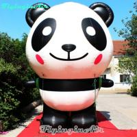 Buy cheap 3m Height Inflatable Cute Panda for Zoo and Other Events Decoration from Wholesalers