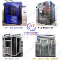 Buy cheap Toll Station Parking Sentry Box , Indoor sentry garden shed high security from wholesalers