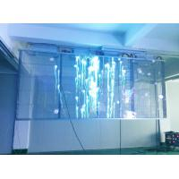 Buy cheap Transparent Led Screen Led Moving Message Display Sign Outdoor Glass Window High Brightness Led Screen Display from wholesalers