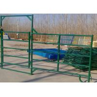 Buy cheap PVC Coated H1800mm Farm Fence Gates For Cattles from wholesalers