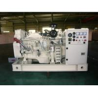 Buy cheap 30kva Cummins Marine Diesel Generator, 30KW - 1000KW, 3 Phase from wholesalers