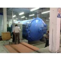 Buy cheap Rubber Vulcanizing Autoclave Rubber Autoclave Composite Autoclave With Safety Interlock And Siemens PLC Control from wholesalers