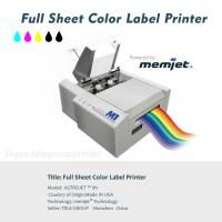 Buy cheap Full Sheet Color Label Printer, Inkjet, Power by Memjet ,Astro M1,Variabel Data Printing from wholesalers