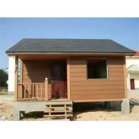 Buy cheap Water - Proof Ecology Wood Cladding House In Walnut / Red Wood / Coffee Color from wholesalers