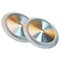 Buy cheap Vacuum Brazed Industrial Diamond Grinding Wheels Optional Size For Jewelry / Gemstone from wholesalers