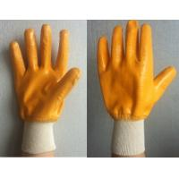 Buy cheap Industiral working nitrile coated  gloves product