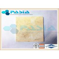 Buy cheap Super Flat Composite Stone Panels Cladding Wall Sheets Water Resistant from wholesalers