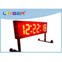 Buy cheap Wireless Controller LED Countdown Timer Electronic With Moving Wheel Stand from wholesalers