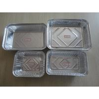 Buy cheap Food Grade Aluminum Foil Containers Vairous Types Recyclable For Kitchen recycling For Supermarket from wholesalers