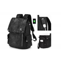 Buy cheap High Quality New Arrival Trend Casual Men Backpack All Black Backbag for Sale from wholesalers