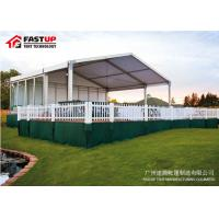 Buy cheap Aluminum Frame Fabric Cover Large Party Tent For Church 12M Clear Span from wholesalers
