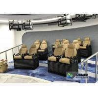 Buy cheap Genuine leather Mobile 5D Movie Theater In Truck Or Trailer Back Poking Effects product