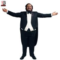 Buy cheap Luciano Pavarotti Life Size Wax Portrait. product