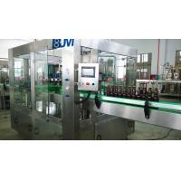 Buy cheap Fully Automatic Beer Glass Bottle Filling Machine / Glass Bottle Packing Machine from wholesalers