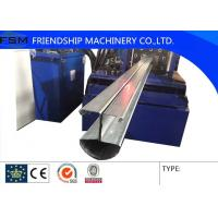 Buy cheap Garage Door Frame Automatic Roof Panel Roll Forming Machine customized  special-shaped steel from wholesalers