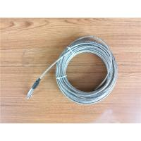 Buy cheap 5.2mm 7x19 Galvanized Steel Wire Rope Cable With Thimble Bright Coating from wholesalers