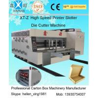 Buy cheap Flexo Printing Corrugated Carton Machinery With Stacker High Speed 100 Pcs / Min from wholesalers