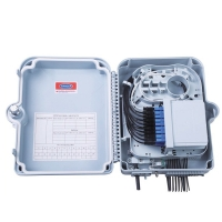 Buy cheap IP65 PC ABS 24cores ODF FTTH Network Termination Box from wholesalers