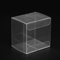 Buy cheap Acid Free Mini Cupcake Folding Clear Plastic Pvc Boxes from wholesalers
