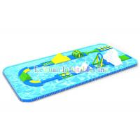 Buy cheap UV Resistant Metal Frame Pools / Above Ground Swimming Pool With Strong PVC from wholesalers