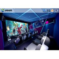 Buy cheap Interactive Truck Mobile 5D Cinema With Special Effect Motion Seat product