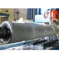 Buy cheap 2 Ply Corrugated Rollers Single Facer Chrome Plated or Tungsten Carbide materials from wholesalers