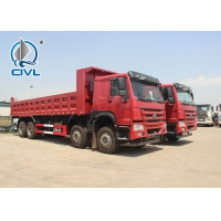 Buy cheap Sinotruk HOWO7 8X4 10Tires 20M3 Bucket Heavy Duty Dump Truck For  With Frond Lifting  EUROII With 371hp from wholesalers