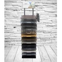 Buy cheap Customized Floor Tile Display Racks Metal Stone Showroom Stand Marble Display Rack from wholesalers