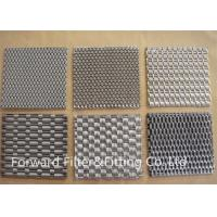 Buy cheap Metal Fabric Woven Metal Mesh Architectural Mesh Weave With Stainless Steel Wire from wholesalers