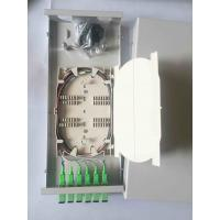 Buy cheap 300 * 130 * 45  Fiber Distribution Box 6 Cores Small Size SC / APC With Adaptor from wholesalers