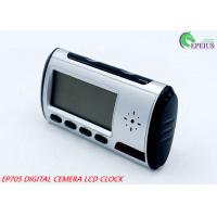 China Remote Control Wifi Camera Clock Full HD 720P P2P Network For Home / Office Security on sale