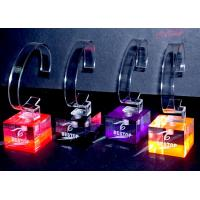 Buy cheap Colorful Custom Watch Acrylic Display Holders Solid For Showing Watch product
