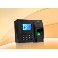 Buy cheap Biometric device Fingerprint Time Attendance System with Access Control , RS232 / 485 from wholesalers