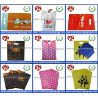 Buy cheap Factory Wholesale Glossy LDPE Die Cut Handle Plastic Retail Merchandise Bags from wholesalers