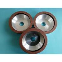 Buy cheap Small Diameter Bowl Shape Diamond Grinding Wheel , 100*20*20*10*5 Resin Bond Diamond Wheels product