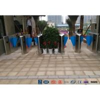 Buy cheap High End Flap Barrier Gate / Flap Barrier Turnstile Attendance For Entrance from wholesalers