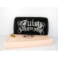 Buy cheap Juicy Couture Queen Couture Velour Wallet Black from wholesalers