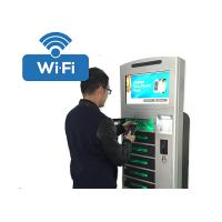 Buy cheap Coins / Bills Payment Cell Phone Charging Station Kiosk Hotspot Wifi Connection from wholesalers