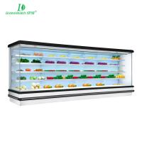 Buy cheap R404a / R134 Multideck Open Chiller / Supermarket Display Refrigerator Fan Cooling Type from wholesalers