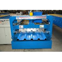 Buy cheap High Speed Galvanised Sheet Metal Forming Equipment With Hydraulic Cutting from wholesalers