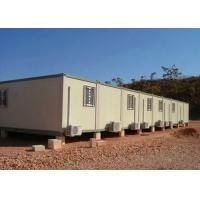 Buy cheap Temporary Storage Container Houses Steel Tube Cross Member With Air - Conditioning from wholesalers