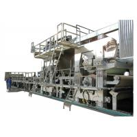 Buy cheap 50HZ Kraft Paper Making Machine , 100-300T Self Production Paper Board Making Machine from wholesalers