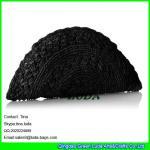 Buy cheap LUDA ladies straw evening clutch navy blue crochet raffia straw handbag from wholesalers