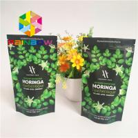 Buy cheap Stand Up k Plastic Pouches Packaging Aluminum Foil Lined Matcha Powder Green Tea Bag from wholesalers