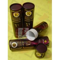 Buy cheap 8 Inch Cardboard Tube Packaging Cylindrical Glossy Lamination Printing from wholesalers