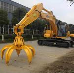 Buy cheap Excavator used hydraulic grab scrap metal grab bucket from wholesalers